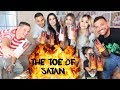 The Toe Of Satan Challenge ft. The Aguilar's & Benny