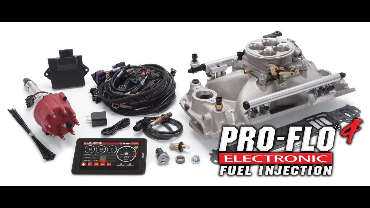 Edelbrock Pro-Flo 4 EFI system
