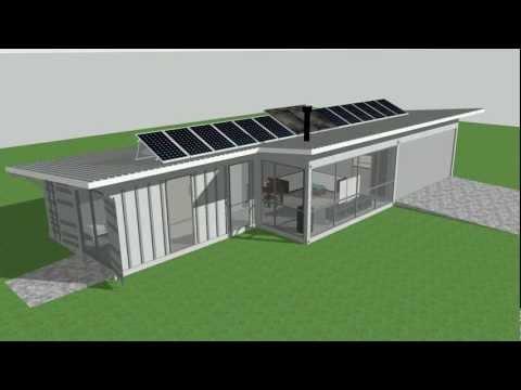 Isbu Aussie Bush Retreat Shipping Container House
