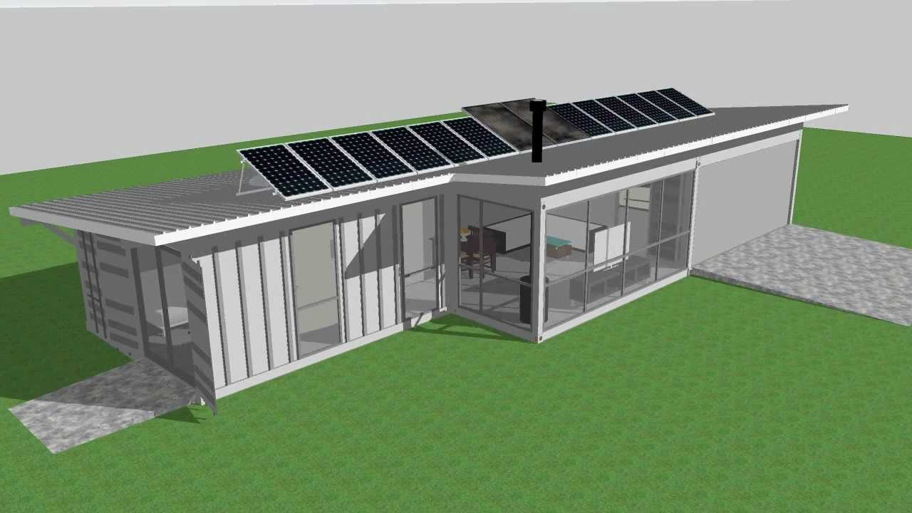 ISBU Aussie Bush Retreat Shipping Container House YouTube
