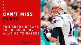 Tom Brady Breaks Record for TD Passes Including Playoffs in NFL History