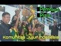VIDEO: Momen Pembagian Trofi Komunitas Jujur Indonesia U-9 & 11 di Stadion Singaperbangsa