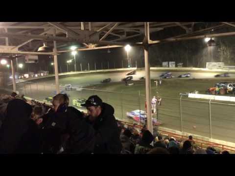 Highland Speedway 3-18-17 (Grandstand view)