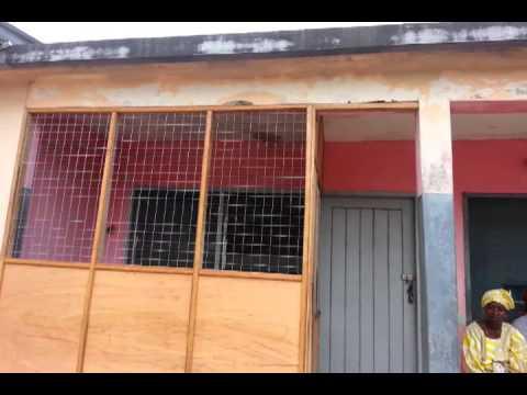 Kpetoe District Clinic in Ghana.