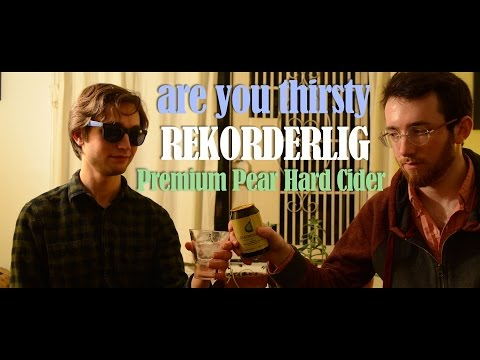#AreYouThirsty Reviews REKORDERLIG PEAR CIDER