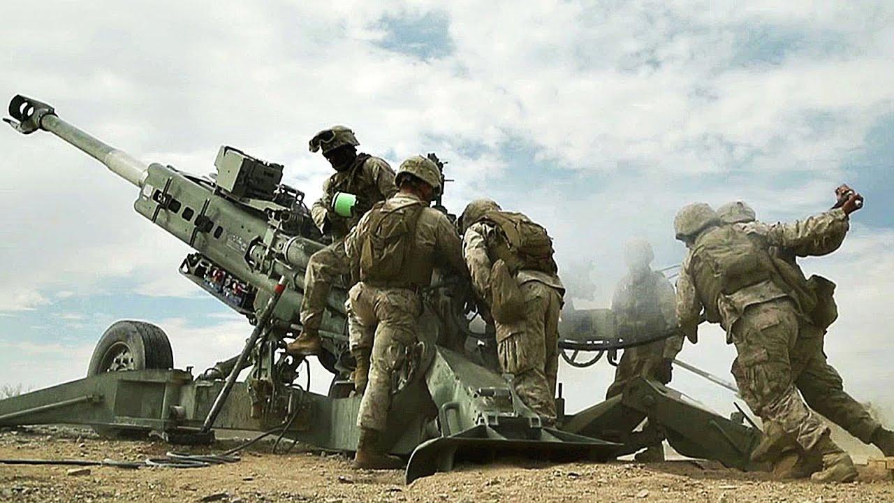 artillery sling load  u0026 fire mission - m777 howitzer