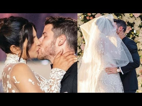 Priyanka Chopra And Nick Jonas Wedding  Kiss