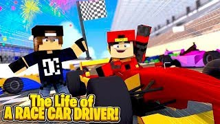 Minecraft LIFE OF - ROPO LIVES THE LIFE OF A WORLD CHAMPION RACE DRIVER!!!