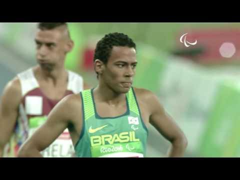Athletics | Men's 400m - T20 Round 1 heat 1 | Rio 2016 Paralympic Games