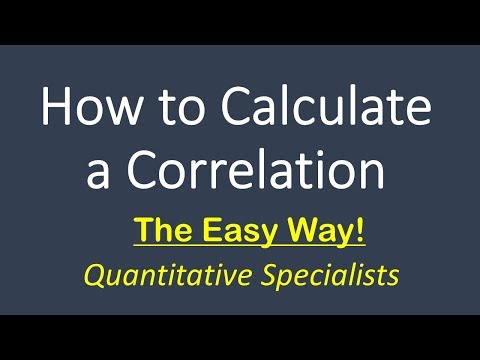 How To Calculate And Interpret A Correlation (Pearson's R)