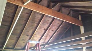 house remodel - part 12 vaulted ceilings