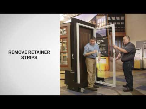 Snap In Retainer Replacement on Andersen® Full View Storm Doors
