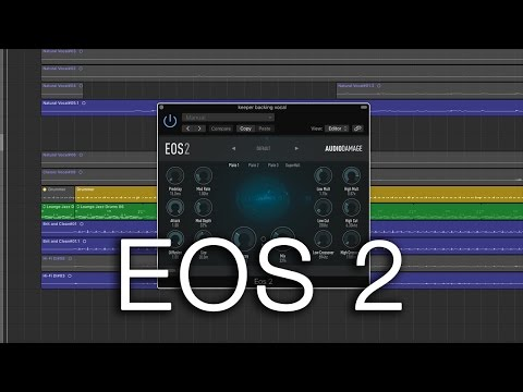 Recording Ambient Guitar - Audio Damage EOS 2 Reverb Plugin