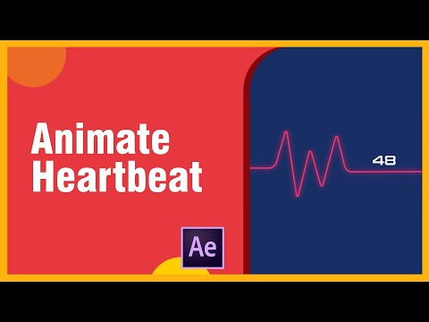 How To Create And Animate Heartbeat In After Effects - After Effects Tutorial