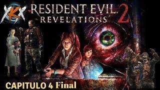 RESIDENT EVIL REVELATIONS 2 - LA BATALLA CONTRA ALEX WESKER. SORPRESA FINAL!!