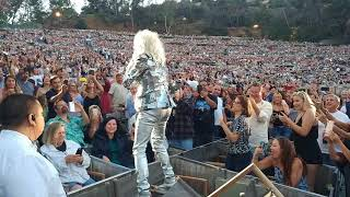 Cindy lauper at the Hollywood bowl 6/26/18