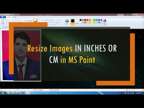 How to Reduce Photo Size IN INCHES OR CMs