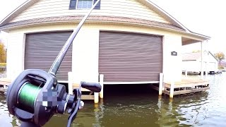 FISHING UNDER A HOUSE?!?!