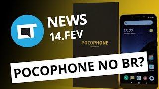 Pocophone homologado pela Anatel; Android 9 no Moto G6 e + [CT News]