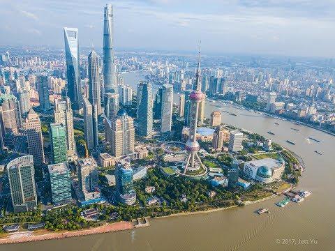 BEST DRONE EVER!!!! DJI MAVIC PRO first flight test. The Bund, Shanghai,China