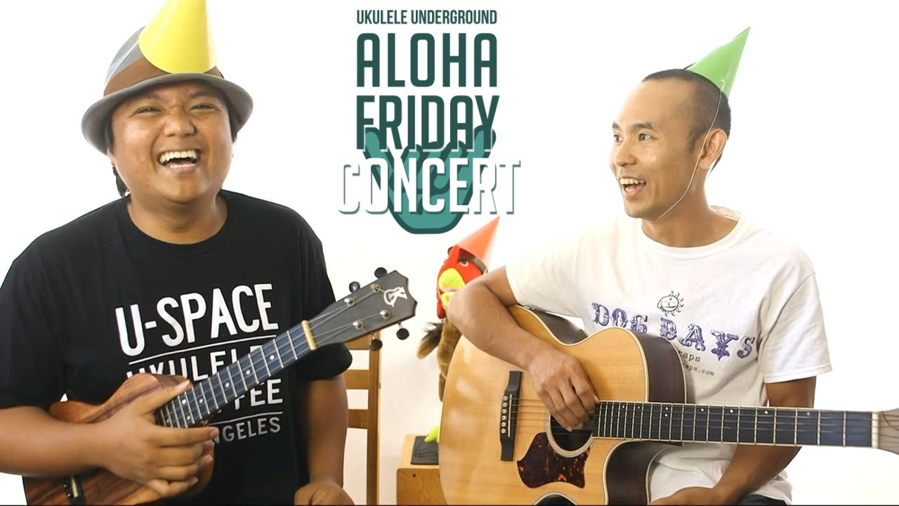 June 16 2017 aloha friday concert replay youtube june 16 2017 aloha friday concert replay ukulele underground hexwebz Images