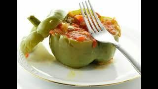 Перец, фаршированный овощами на зиму