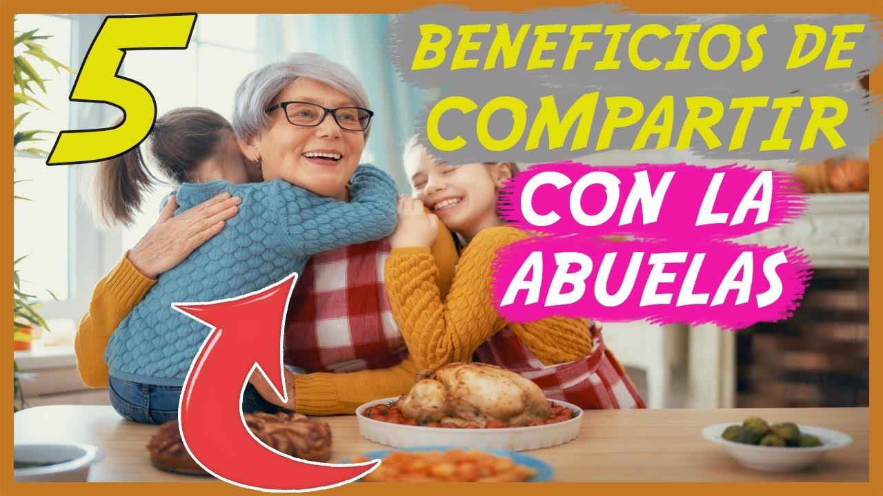 5 Beneficios para el desarrollo de los #niños si pasan más tiempo con su #abuela