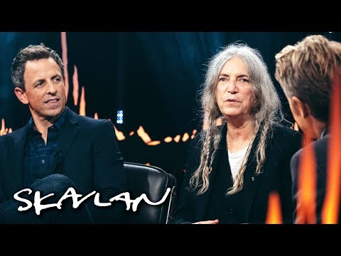 Patti Smith on Nobel prize performance: – I was humiliated and ashamed | Skavlan