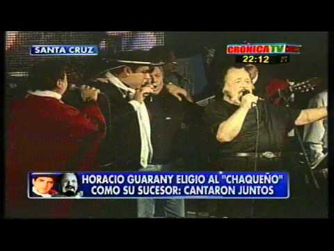 """Horacio Guarany y El Chaqueño Palavecino """"Puerto de Santa Cruz"""" """" Piel Morena """""""