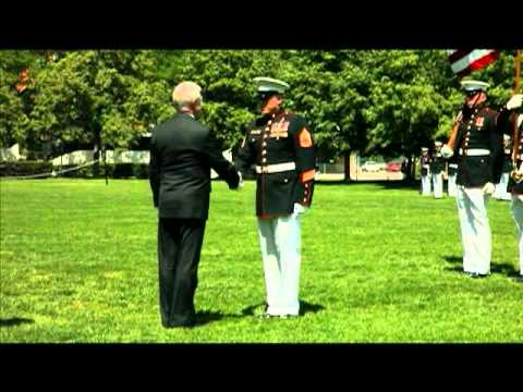Gunnery Sgt. Blonder Awarded Navy Cross
