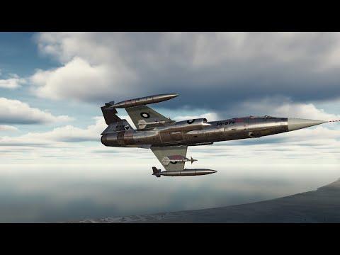 DCS World - MiG-21 vs F-104 - Indo-Pakistani Conflict 1971