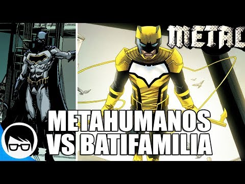 METAL - LA BATIFAMILIA VS METAHUMANOS | Batman & the Signal #1 | COMIC NARRADO