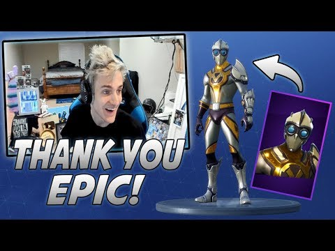 Ninja Reacts To New Venturion Skin And Triumph Glider!
