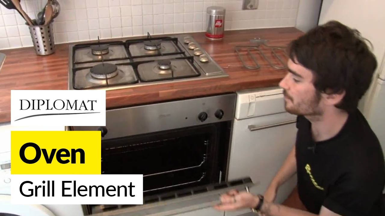 How to replace the grill element in a    Diplomat       cooker     YouTube