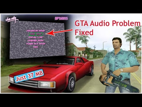 Fix GTA vice city audio problem||How to solve audio problem in GTA vice city in PC /Laptop