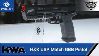 KWA H&K USP Match GBB Pistol - Evike.com Exclusive - [The Gun Corner] - Airsoft Evike.com