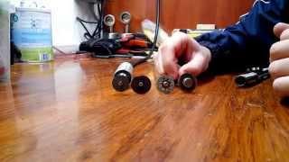 Тестирование отрезных дисков для гравера по стали