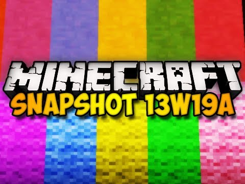 Minecraft Snapshot 13w19a - NEW MOB? STAINED CLAY, & MORE! (HD)