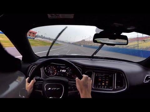 2015 Dodge Challenger SRT Hellcat 6MT at Auto Club Speedway (Sports Car Course) - POV Track Test