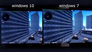 775 СОКЕТ Windows 7 vs Windows 10 ltsc CS:GO