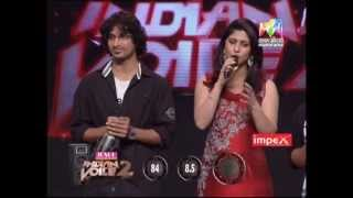 Josco Indian Voice Season 2   Sreeraj and Priya 16 01 2013