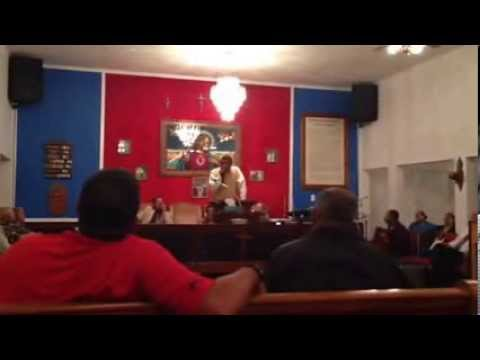 Apostle Charles Marsh preaching at MacDonald Pentecostal Holiness Church Part 2