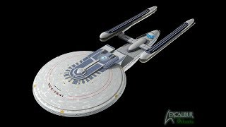 Star Trek's Finest Federation Starship- USS Hood (NCC- 2541)