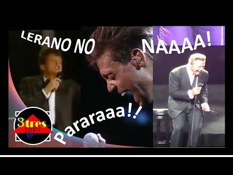 3 IMPROVISACIONES DE LUIS MIGUEL CON LETRA / 1991 MONTREAL/ MEXICO D.F. 1994 / GUADALAJARA 2018