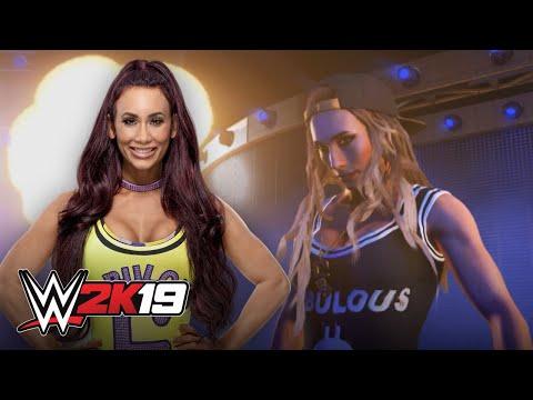 Carmella attempts Undertaker's entrance in WWE 2K19