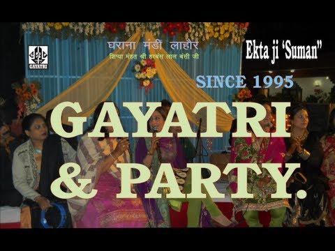 Kadi sadi gali bhull ke...Ladies-Sangeet [Punjabi] by. GAYATRI & PARTY [Since 1995] +9180-1001-1234.