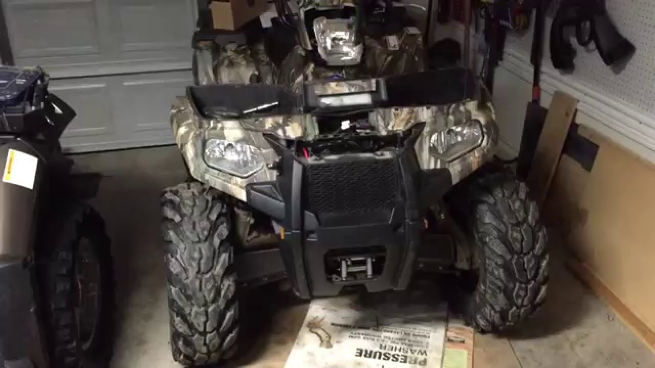 Warn Atv Winch Mounting Instructions One Word Quickstart Guide Book Xt40 Wiring Diagram How To Install A 2014 Polaris Sportsman 570 Rh Youtube Com Mount Sale