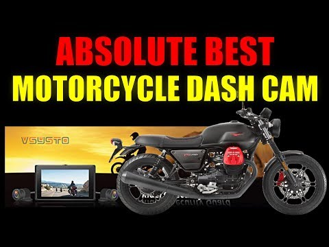 Vsysto Motorcycle Dash Camera Review (The Absolute Best)