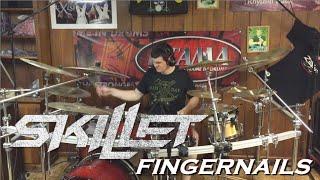 Skillet - Fingernails (Drum Cover by JD)