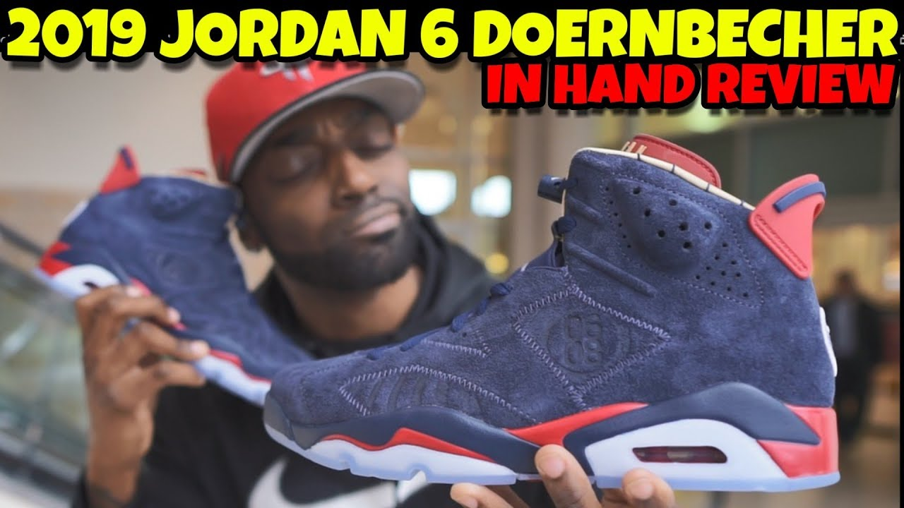 961e7c45c5f46e 2019 JORDAN 6 DOERNBECHER REVIEW!! ARE THESE WORTH  1